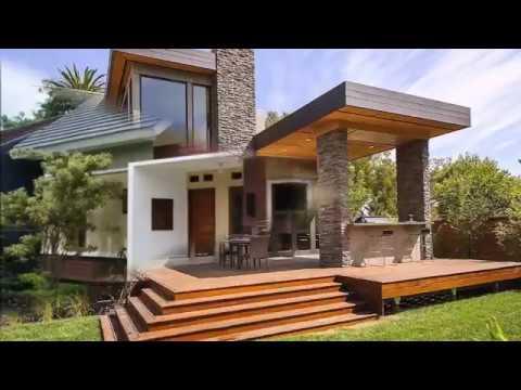 Rumah Minimalis Natural Di Kota Serasa Di Desa Youtube