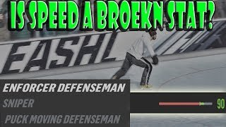 NHL 19 Is SPEED A BROKEN Stat?? We Find Out!!