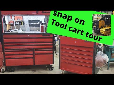 Snap On Tool Box Tour Snap On Cart Tour