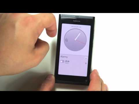 Nokia N9 - przegląd menu - interfejs MeeGo - part 2