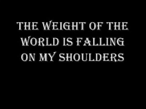 saliva i walk alone with lyrics