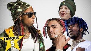 Famous 5 | Lil Rappers... from Lil Wayne to Lil Pump, Lil Uzi Vert & Lil Xan ???