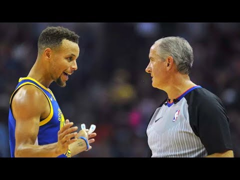 Stephen Curry Hits Referee With Mouthpiece and Gets Ejected With Kevin Durant!
