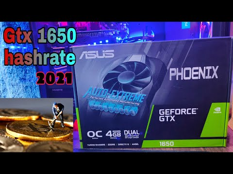Gtx 1650 Hashrate ! How Profitable It Is In 2021 ????