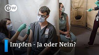 Ab dem 27. dezember soll in deutschland mit biontech-pfizer impfstoff gegen das coronavirus geimpft werden. doch viele menschen sind sich noch unsicher, ...