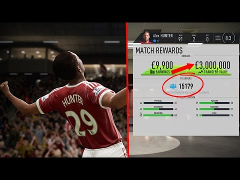 THIS IS WHAT HAPPENS WHEN ALEX HUNTER SCORES HIS FIRST GOAL !! FIFA 17 THE JOURNEY