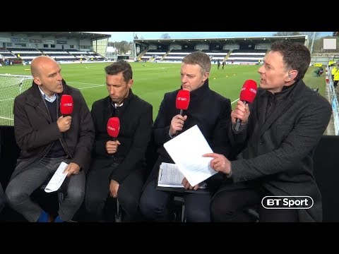 Old Firm debate gets heated! Chris Sutton clashes with Alex Rae over Scott Brown incident | BT Sport
