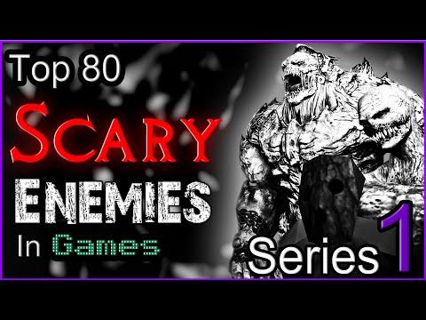 Top 80 Scary Enemies In Games [SERIES  1]