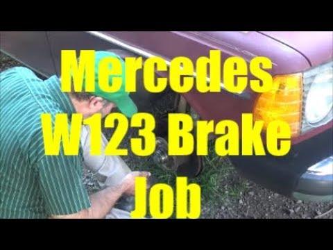 Mercedes W123 Brake Job