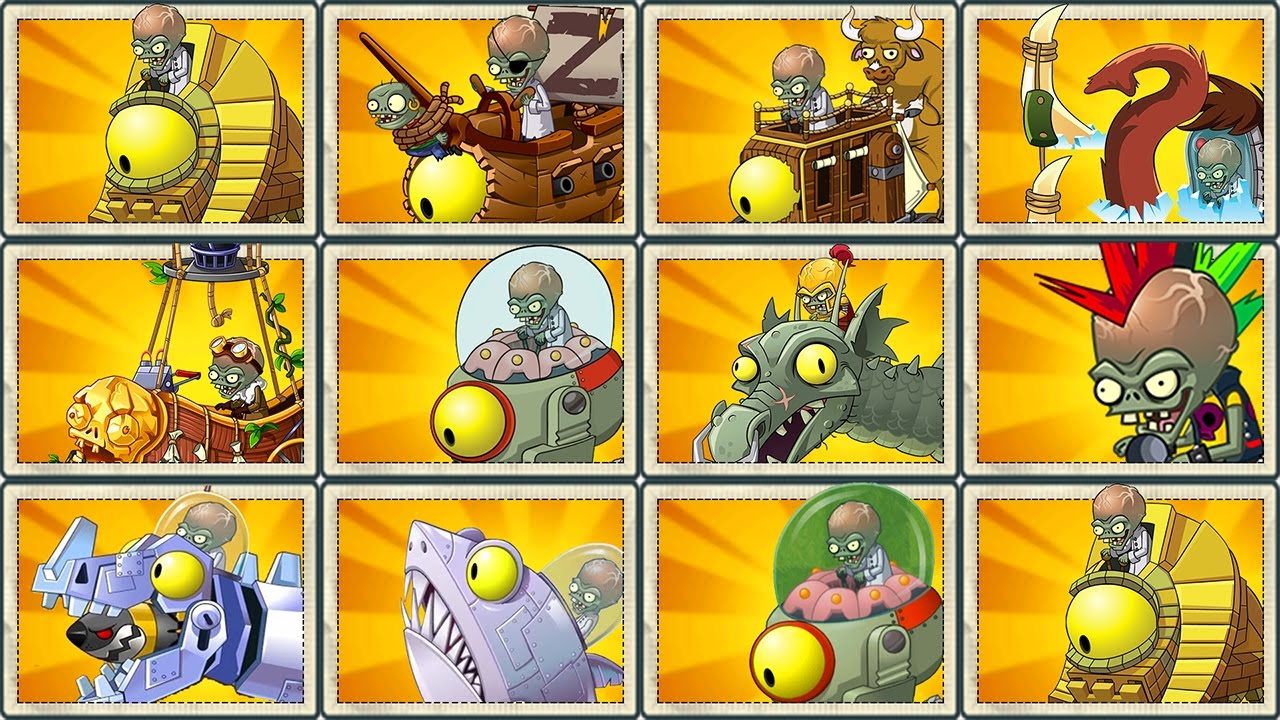 Plants Vs Zombies 2 Final Boss All Plants Max Level Vs