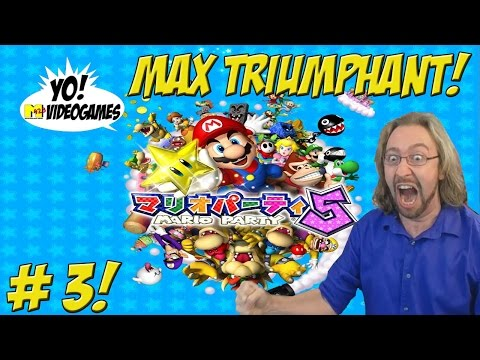 Mario Party 5! Part 3 Max Triumphant - YoVideogames