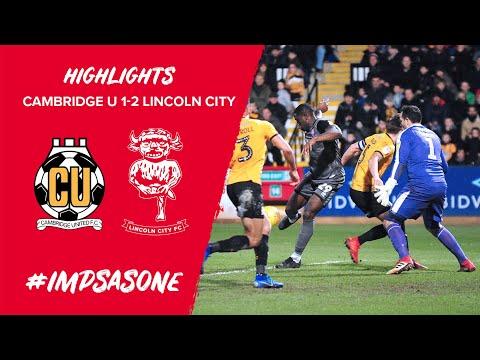 Cambridge United v Lincoln City