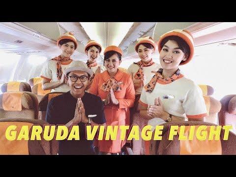NOSTALGIA TAHUN 70an! VINTAGE FLIGHT GARUDA INDONESIA!