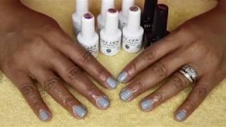 Gellen gel nail polish from Amazon! I'm shook! Top & base polish: https://www.amazon.com/dp/B078NVG348/ref=cm_sw_r_cp_apip_TxA1hcqTwdLS2 Gel ...