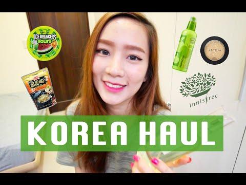 Korea Haul: Fashion Items, Groceries, & Cosmetics