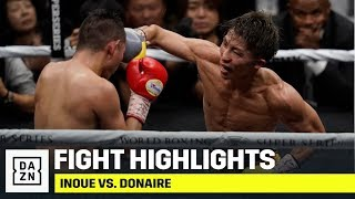 HIGHLIGHTS | Inoue vs. Donaire (World Boxing Super Series Bantamweight Final)