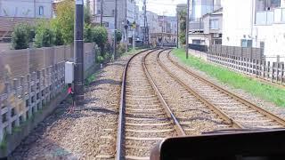 東急世田谷線  若林駅~松蔭神社前駅
