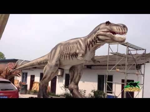 ไดโนเสาร์โรงงานในประเทศจีน,การเคลื่อนย้ายผู้จัดจำหน่ายรูปแบบชีวิตขนาดไดโนเสาร์