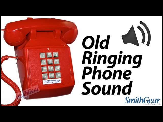 Old Ringing Phone Sound - Old Telephone Ring Effect - YouTube