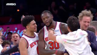 Julius Randle CALLS GAME on STEPBACK at Buzzer for Knicks! 🙌
