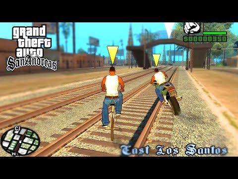 GTA San Andreas на 2 игрока, прохождение вдвоём!😱