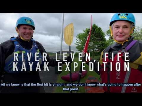 Forth Rivers Trust - River Leven Kayaking - The Leven Project