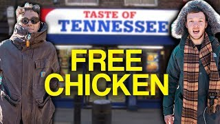 How to get free chicken wings in London (Part 2)