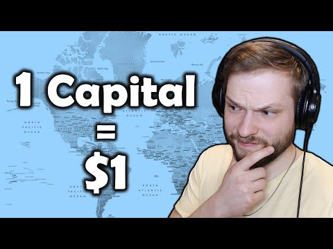 Donating $1 For Every Capital City I Don't Know - Geography Challenges