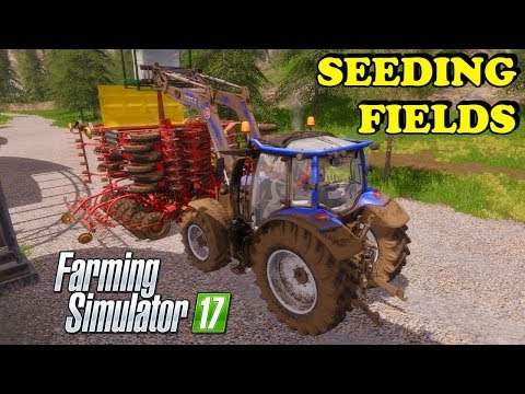 Farming Simulator 17 | The Abandoned Forest | Timelapse | Episode 18 | SEEDING FIELDS thumbnail