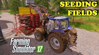 Farming Simulator 17 | The Abandoned Forest | Timelapse | Episode 18 | SEEDING FIELDS