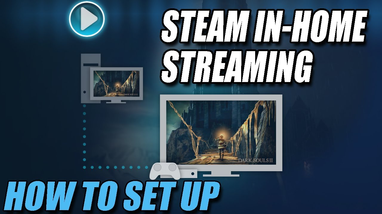 How to Set Up Steam In-Home Streaming   Stream Your Steam Games To Another  PC!