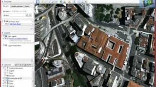 Aula de AutoCad - Google Earth (Escala Real de terreno)
