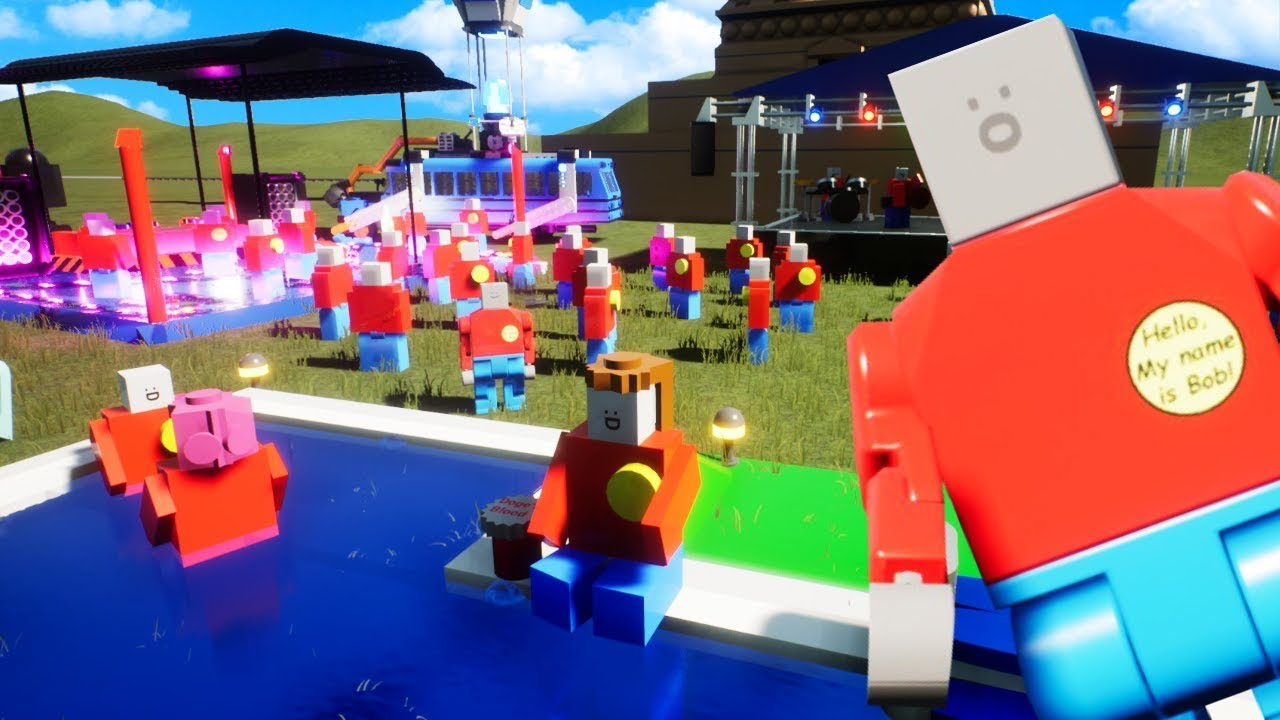 We Threw The Biggest Party Ever in Lego City To Save Our House in Brick Rigs
