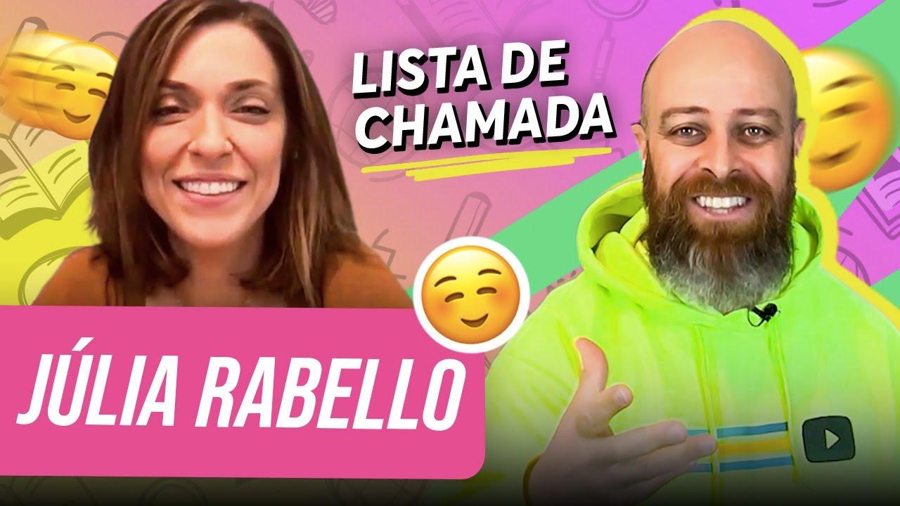 """""""Meu namorado era um paradoxo!"""" - Lista de chamada com Júlia Rabello e Prof. Noslen"""