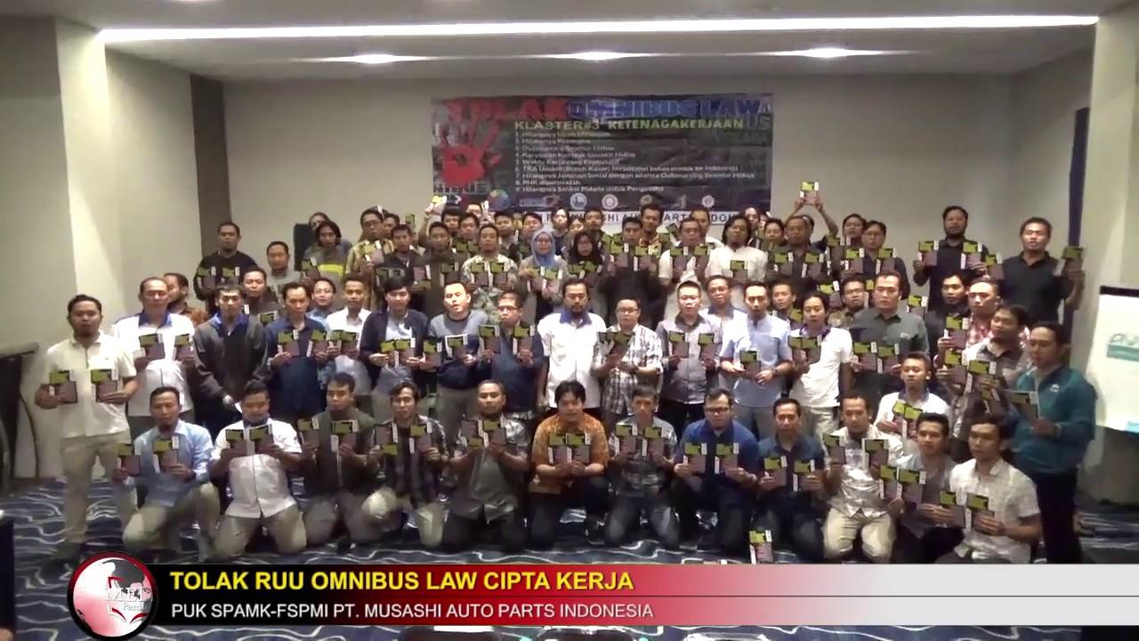 Sikap FSPMI PT. MUSASHI Terkait RUU OMNIBUS LAW Cipta ...