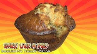 Jumbo Banana Muffins Recipe