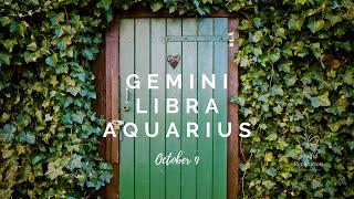 A life partner on your path, AIR Sign (Gemini, Libra, Aquarius) October 9