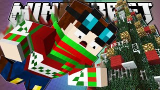 Minecraft | CHRISTMAS TREE DROPPER!! | Tall Dropper Custom Map