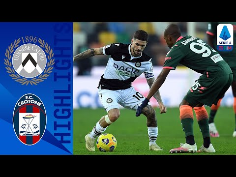Udinese Crotone Goals And Highlights