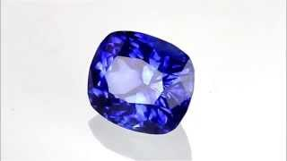 Pretty Intense Vivid Medium Blue Sapphire Gemstone - Cushion Cut, 2.06 carats - AfricaGems