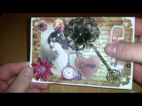 Craft Update | Vintage Karten 2