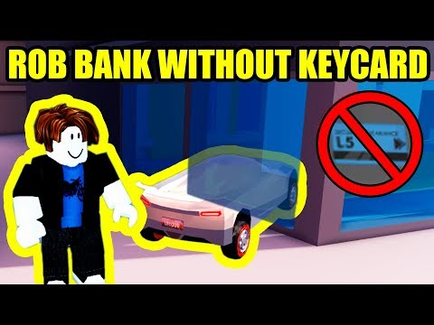 [NEW] HOW TO ROB BANK WITHOUT KEYCARD GLITCH!!!   Roblox Jailbreak