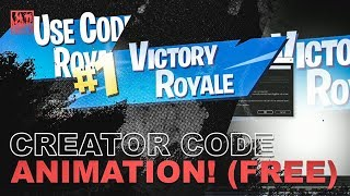 Fortnite Victory Royale Creator Code Animation in After Effects (FREE DOWNLOAD!)