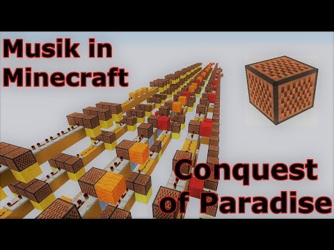 Conquest of Paradise I Musik in Minecraft #01 I knosabemuel
