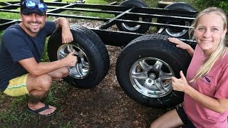 Where to Buy Trailer Tires? 🤔Airstream Renovation & Full Time RV Living