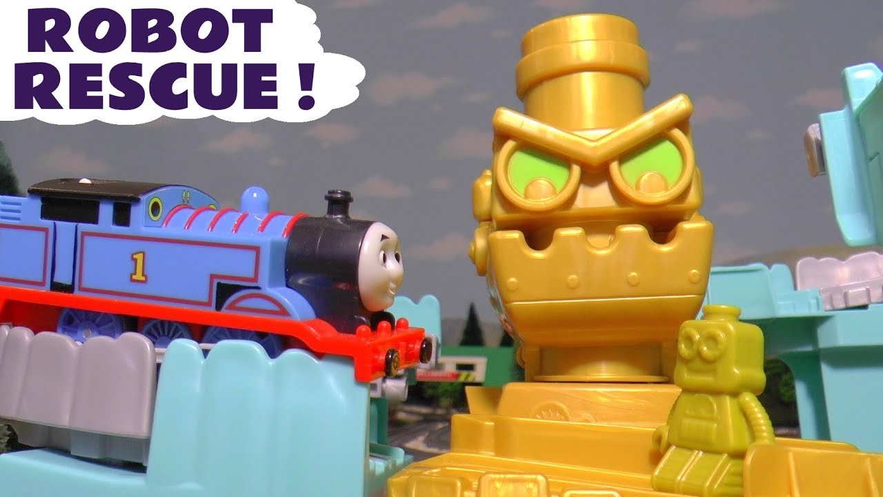 Thomas & Friends Adventures Robot Rescue with the funny Funlings TT4U