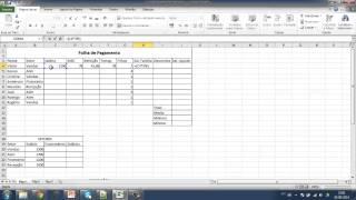 Revisão De Excel - Folha De Pagamento