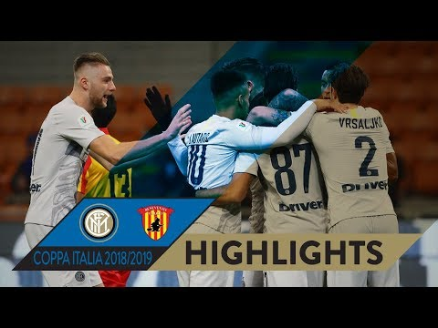 INTER 6-2 BENEVENTO | HIGHLIGHTS | Goals galore at San Siro! | 2018/19 Coppa Italia Round of 16