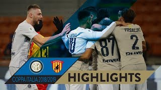 INTER 6-2 BENEVENTO | HIGHLIGHTS | Goals galore at San Siro! | 2018/19 Coppa Italia Round of 16 thumbnail