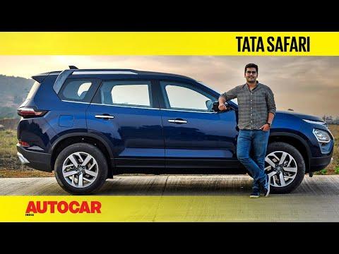 Download 2021 Tata Safari review – Tata's new flagship SUV | First Drive | Autocar India